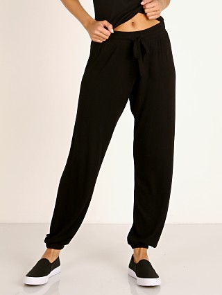 LNA Clothing Core Ribbed Jogger Black