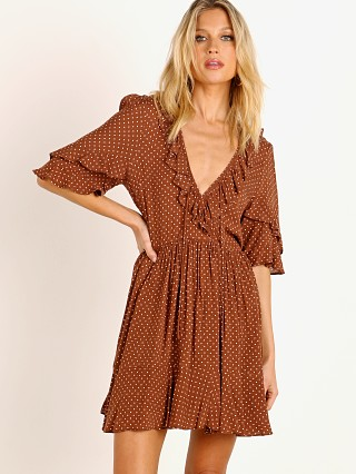 Auguste the Label Collins Frida Mini Dress Brown