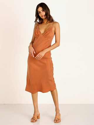 Auguste the Label Keepsake Midi Dress Rust