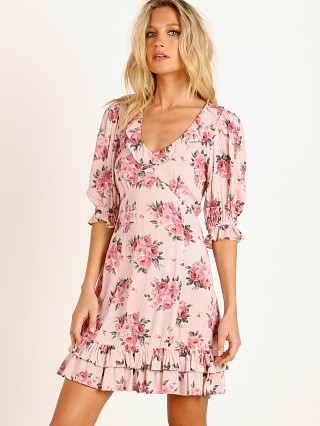 Auguste the Label Roselle Dusk Mini Dress Blush Floral