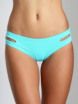 L Space Sensual Solids Estealla Bikini Bottom Sea