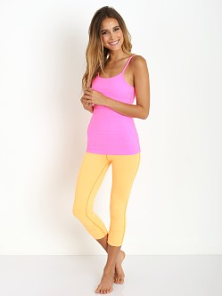 Beyond Yoga Essential Gather Legging Bright Papaya