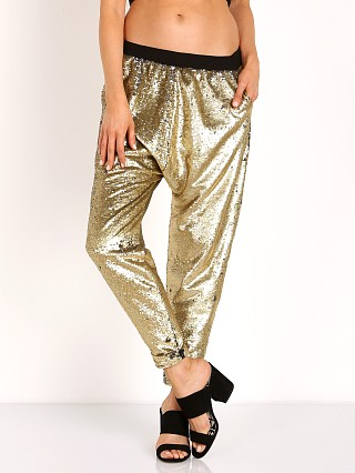 Finders Keepers Dreamweaver Pants Gold
