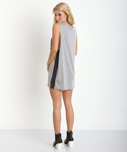 Finders Keepers Times Like These Dress Grey/Navy