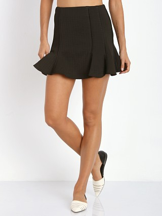 Finders Keepers Straight Talker Skirt Black