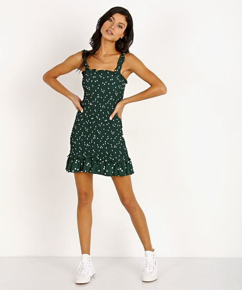 Faithfull the Brand Del Mar Dress Linnea Dot Print
