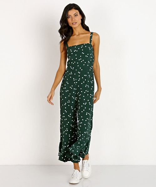 Faithfull the Brand Lea Jumpsuit Linnea Dot Print
