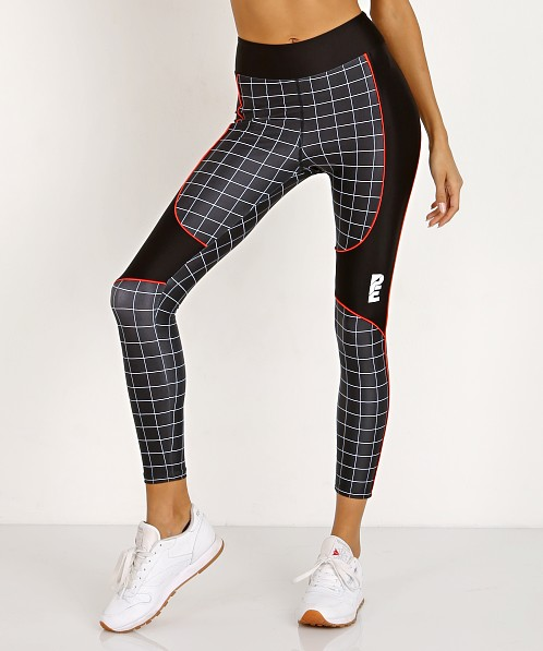 PE NATION The Hammer Throw Legging Black/White Print