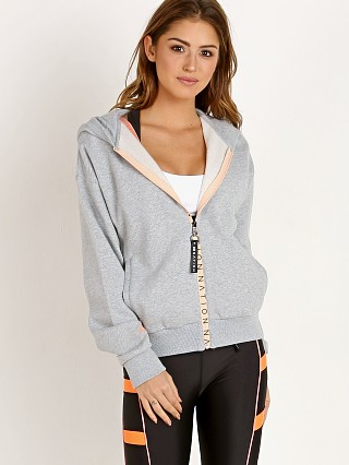 Complete the look: PE NATION The Elite Two Hoodie Grey