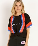 PE NATION Bench Sprint Tee Black, view 2