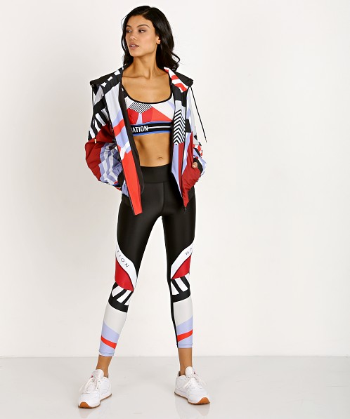 PE NATION Maracana Signature Jacket Print