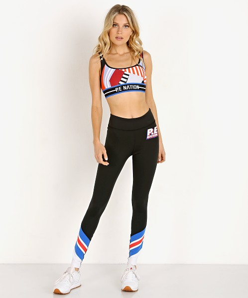 PE NATION Full Toss Legging Black