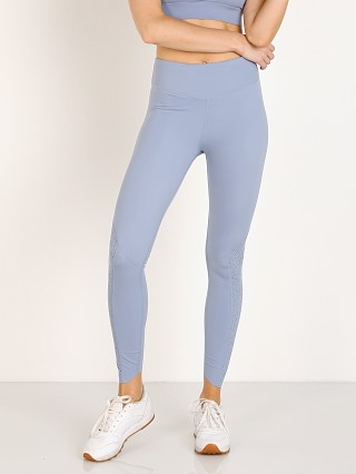 Model in stone wash Varley Chester Legging Tight