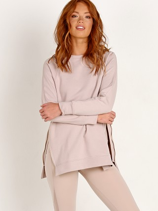 Varley Manning Sweater Sepia Rose