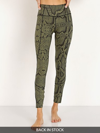Varley Bedford Tight Olive Snake