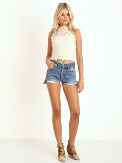 Nightcap Florence Lace Halter Top Ivory