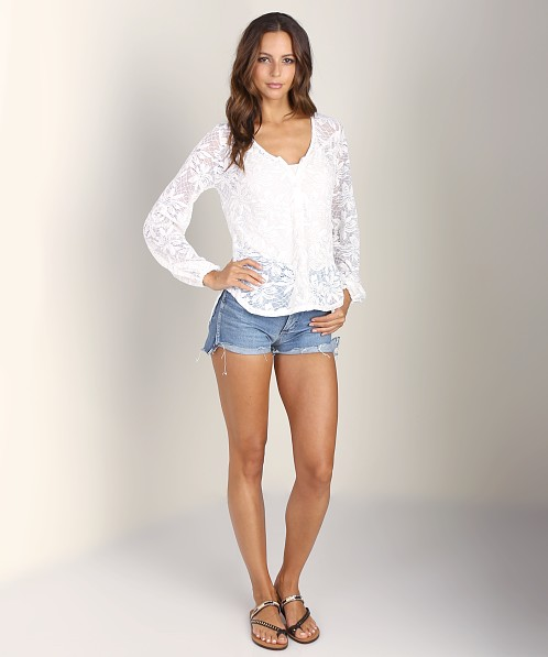 Nightcap Desert Bloom Blouse White