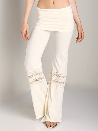 Nightcap Foldover Beach Pant Natural