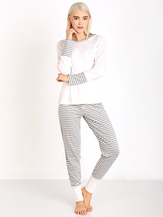 Splendid Cozy Classics PJ Sets Icey Stripe