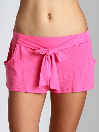 Juicy Couture Slub Knit Basics Short Helium Pink