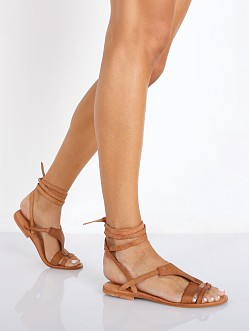 Free People Oliviera Wrap Sandals Tan