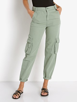 Model in sea spray Levi's Loose Cargo