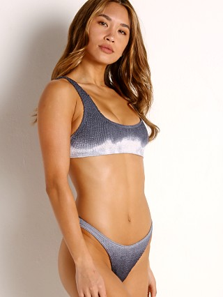 Model in jett ombre BOUND by Bond-Eye The Malibu Bikini Set