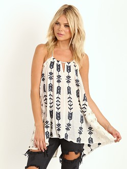 Free People Peace Arrow Tunic Oatmeal