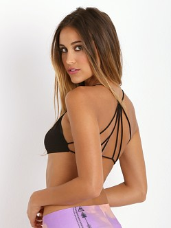 Free People Strappy Back Bra Black