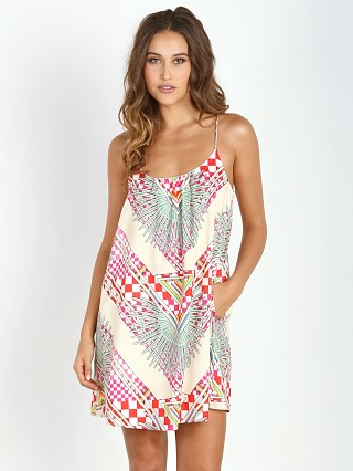 Mara Hoffman Tank Dress Rainbow Palm Stone