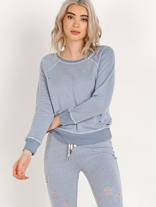 n: Philanthropy Gayla-Sweatshirt Washed Indigo