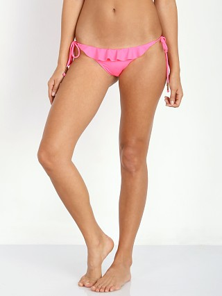 Eberjey So Solid Willow Bikini Bottom Pink Flash