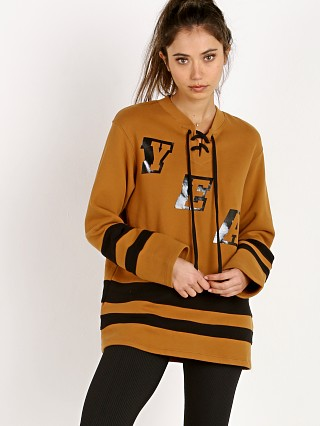 Year of Ours Fleece Hockey Rust