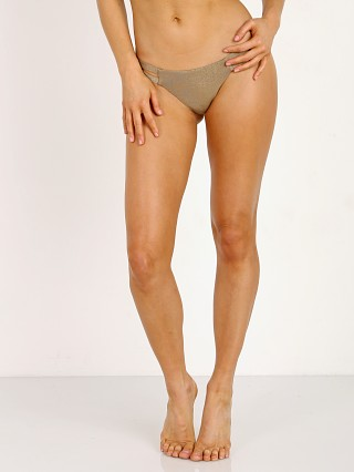 Vitamin A Neutra Bikini Bottom Bronze Metallic