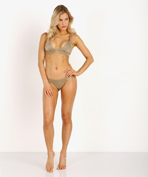 04231fdfa2 Vitamin A Neutra Bikini Bottom Bronze Metallic 42B BNZ - Free Shipping at Largo  Drive
