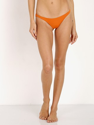 Vitamin A Samba Ruched Back Bikini Bottom Honey