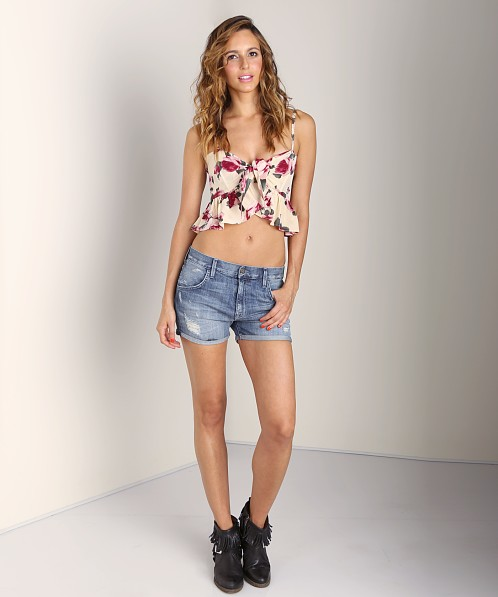 Stone Cold Fox Quixote Crop Rose Print