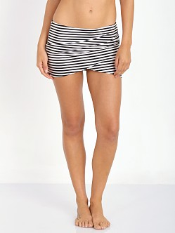 Amuse Society Everyday Stripe Skirt Black Sands