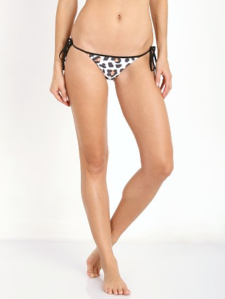 Amuse Society Delray Leopard Cheeky Bikini Bottom