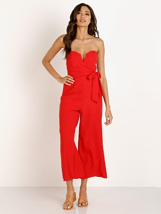 ASTR the Label Zion Jumpsuit Fire Red