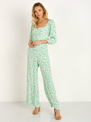 Capulet Manzanita Jumpsuit Apple Green Floral
