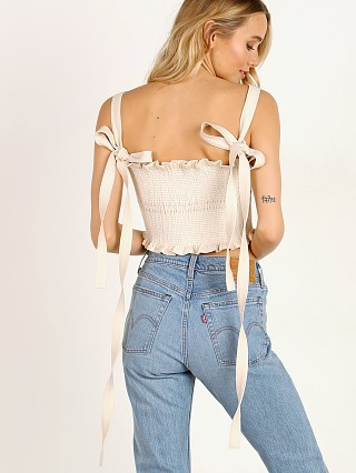 Capulet Blaire Top Natural Denim
