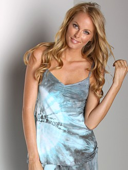 Love Tanjane Cami With Shelf Bra Slate Splash