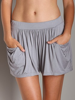 Three Dots Shorts Greystone