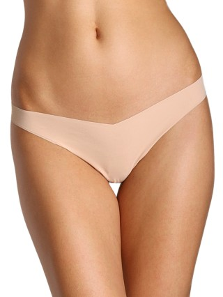 Complete the look: Commando Classic Tiny Thong True Nude