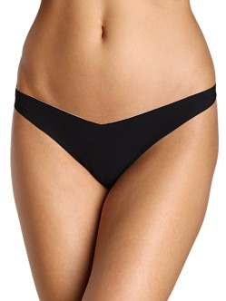 Commando Classic Tiny Thong Black