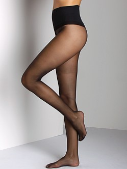 Commando Sheer Tights with Back Seam Black