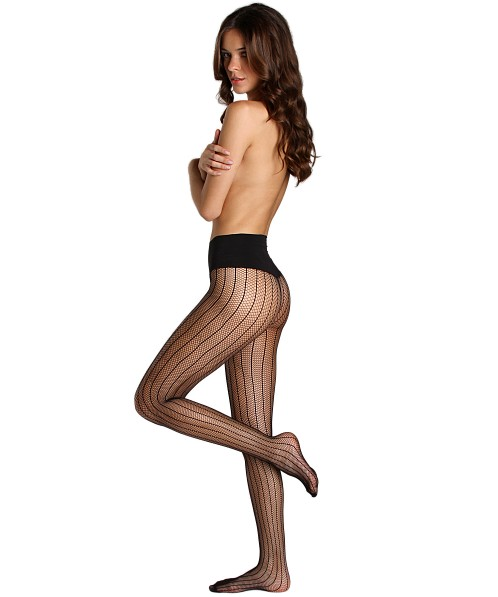 Commando Sexy Stripe Tights Black
