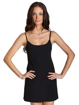 Commando Mini Cami Slip Black