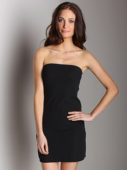 Commando Strapless Slip Black